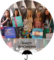 Host a Baby Shower in Denver, CO at Upstairs Circus