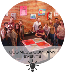 Host a corporate, business or company event in LoDo Denver at Upstairs Circus