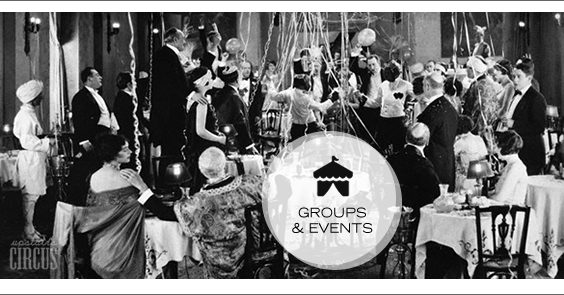Host a Group or Event at Upstairs Circus in LoDo Denver, CO