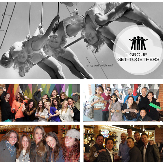 Plan an evening out on the town! Events and groups at Upstairs Circus in Denver, CO