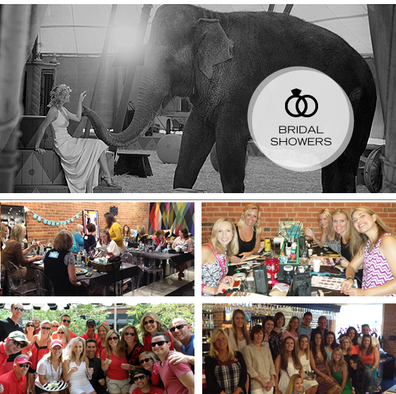 Throw a wedding bridal shower in Denver at Upstairs Circus