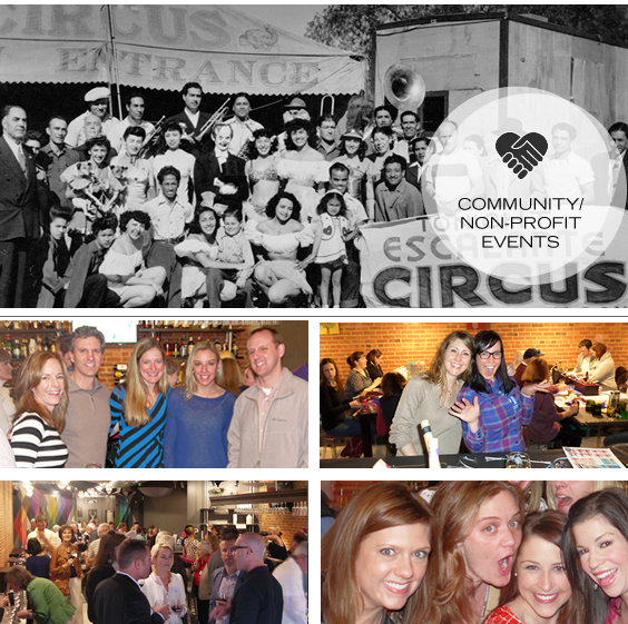 Host a Non-Profit Group or Community Fundraiser at Upstairs Circus in LoDo