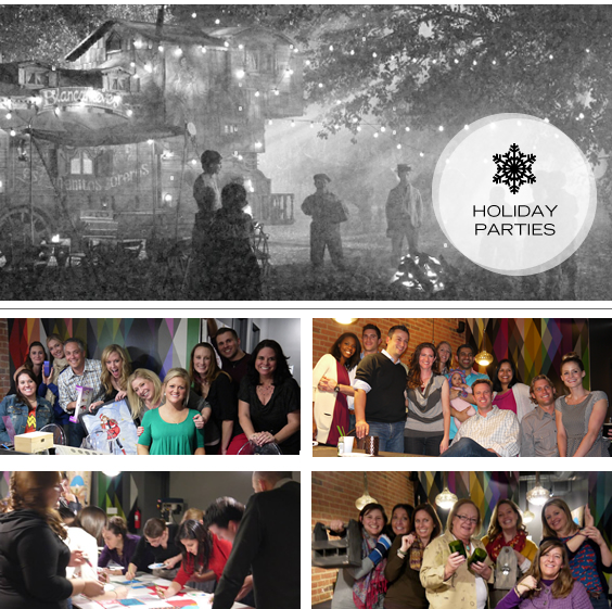 Host a Holiday Party at Upstairs Circus in LoDo or DTC Denver, CO