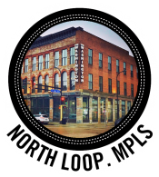 North Loop Minneapolis Upstairs Circus in Logo