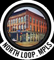 North Loop Minneapolis Upstairs Circus in Logo