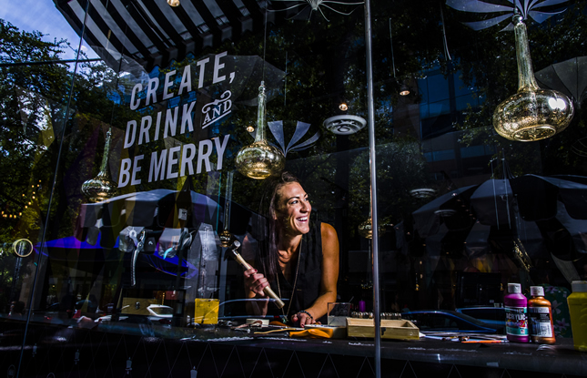 Create, Drink & Be Merry with Upstairs Circus - a DIY Bar
