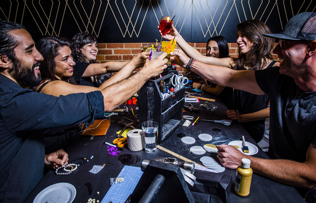Cheers! Creations and Libations at Upstairs Circus