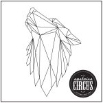 Geo Wolf Design - Upstairs Circus String Art Kit