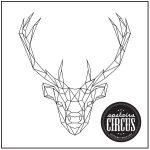 Geo Deer Design - Upstairs Circus String Art Kit