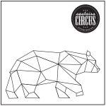 Geo Bear Design - Upstairs Circus String Art Kit