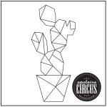 Geo Cactus Design - Upstairs Circus String Art Kit