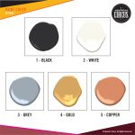 Upstairs Circus At Home DIY Kits - Paint Color Options