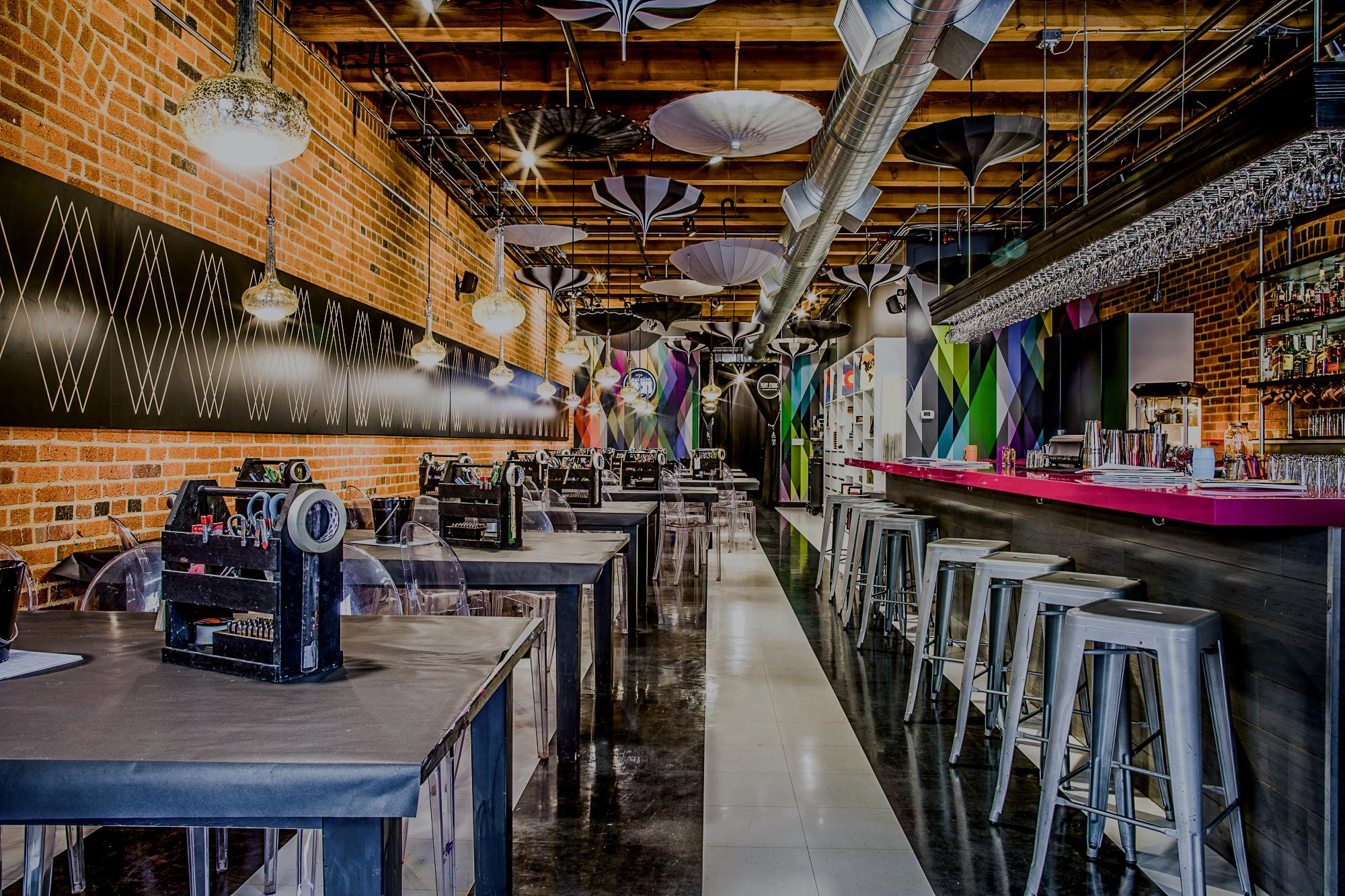 Upstairs Circus - Where DIY Workshop meets Bar