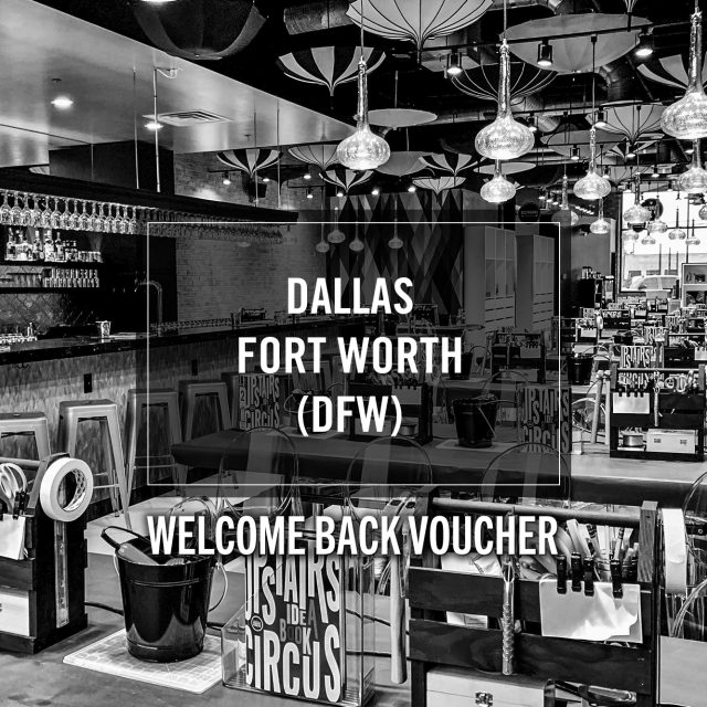 Welcome Back Voucher- Upstairs Circus DFW